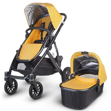 Buy UPPAbaby Vista Stroller Maya Gold & Carbon at Well.ca ...