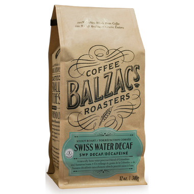 Balzac\'s Coffee Roasters Whole Bean Swiss Water Processed Decaf