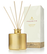 Thymes Gilded Frasier Fir Reed Diffuser Petite Gold