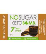 No Sugar Company Keto Bomb Dark Chocolate Peanut Butter