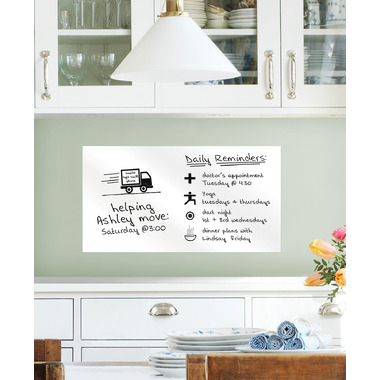 WallPops Dry Erase Rectangle Message Board Decal