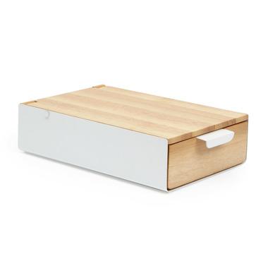 Umbra Reflecxion Storage Box White & Natural