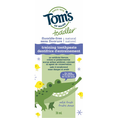 Tom\'s of Maine Toddler Training Toothpaste Mild Fruit
