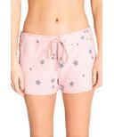 P.J. Salvage Peachy Party Shorts Blush Stars