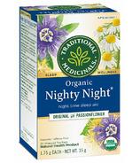 Thé biologique Nighty Night TraditionalMedicinals
