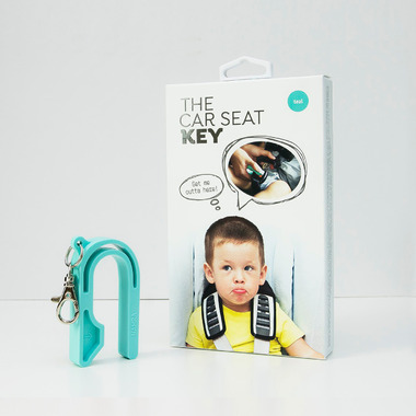 The Car Seat Key Teal