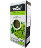 Tastell Organic Edamame Green Soybean Spinach Fettuccine