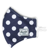 Herschel Supply Co. Classic Fitted Face Mask Peacoat Polka Dot