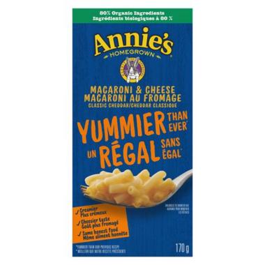 Annie\'s Homegrown Classic Mac & Cheese