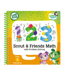 LeapFrog LeapStart 3D Scout & Friends Math & Problem Solving Activity Book