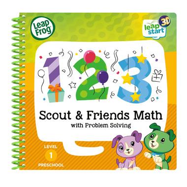 LeapFrog LeapStart 3D Scout & Friends Math & Problem Solving Activity Book