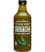 Simply Natural Organic Green Sriracha Hot Sauce