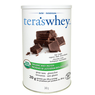 Tera\'s Whey Fair Trade Organic Dark Chocolate Whey Protein