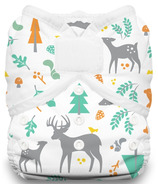 Thirsties Duo Wrap Hook & Loop Diaper Woodland