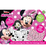 greenre Eco-Disney Minnie Eco Giant Colouring Pad with Stickers