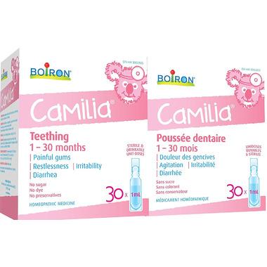 Boiron Camilia Children Bonus Pack