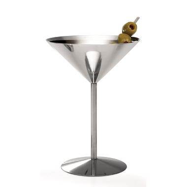 Danesco 5oz Martini Glass Stainless Steel