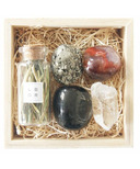 Little Box of Rocks Crystal Collection Wildfire