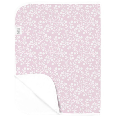 Kushies Deluxe Waterproof Change Pad Berries Pink