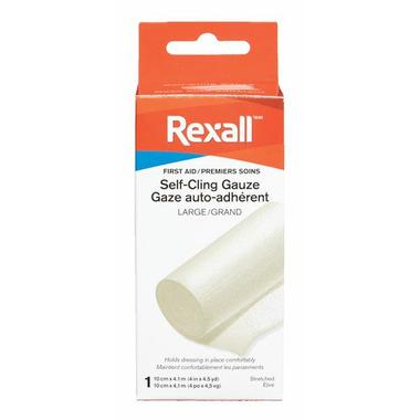 Rexall Self Clinging Gauze Bandage Large
