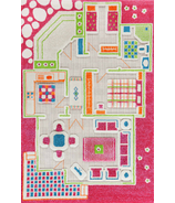 IVI 3D Playhouse Play Carpet