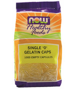 NOW Foods Single 0 Gelatin Caps