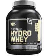 Optimum Nutrition Platinum HydroWhey Turbo Velocity Vanilla