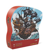Crocodile Creek Shaped Box Pirate Floor Puzzle