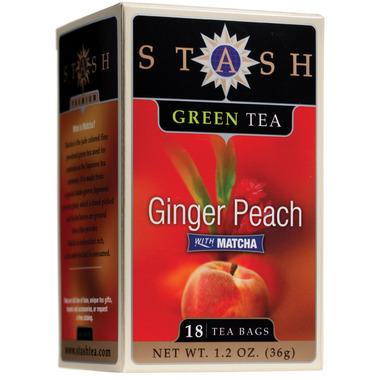 Stash Ginger Peach Green Tea