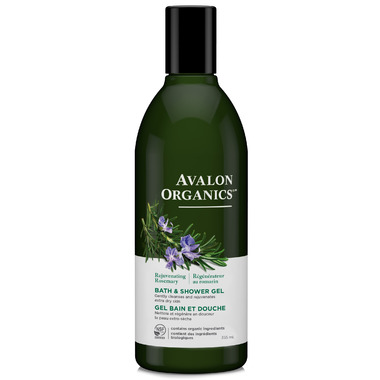 Avalon Organics Rosemary Bath & Shower Gel