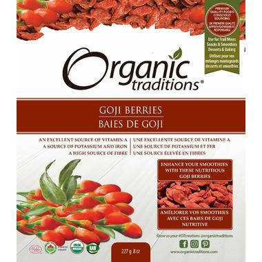 Organic Traditions Goji Berries