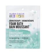 Aura Cacia Ginger Mint Foam Bath