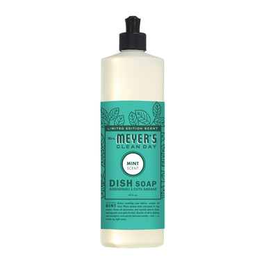 Mrs. Meyer\'s Clean Day Dish Soap Mint