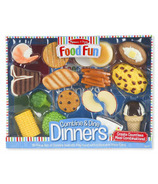 Melissa & Doug Food Fun Combine and Dine Dinners