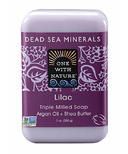 One With Nature Lilac Bar Soap