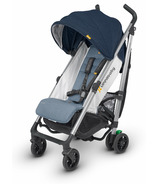 UPPAbaby G-Luxe Stroller Aidan Denim and Silver