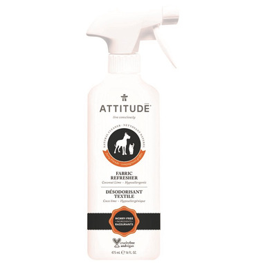 ATTITUDE Furry Friends Pet Fabric Refresher Coco Lime