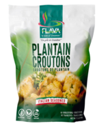 FLAVA Plantain Croutons Italian Seasoned