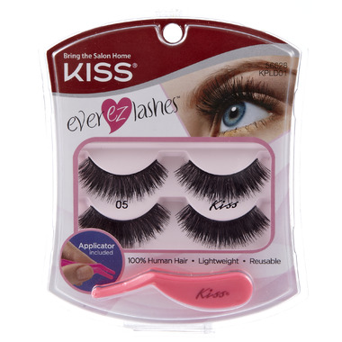 Kiss Ever EZ Fake Eyelashes Double Pack # 01