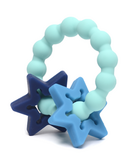 Chewbeads Central Park Teether Turquoise Star