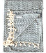 Stray & Wander Reve Blanket Dark Grey