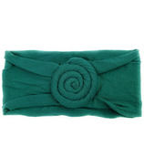 Baby Wisp Nylon Headwrap Roll Headband Deep Teal