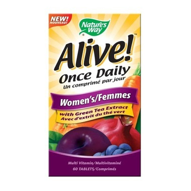 Nature\'s Way Alive! Once Daily Women\'s Multivitamin