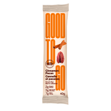 Good To Go Keto Bars Cinnamon Pecan