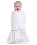 Halo 100% Cotton SleepSack Swaddle Pink Pin Dot