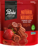Panda Natural Licorice Strawberry