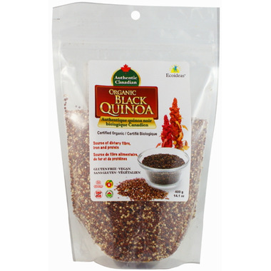 Ecoideas Authentic Canadian Organic Black Quinoa