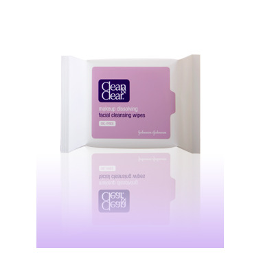 Clean & Clear Makeup Removing Facial Cleansing Wipes