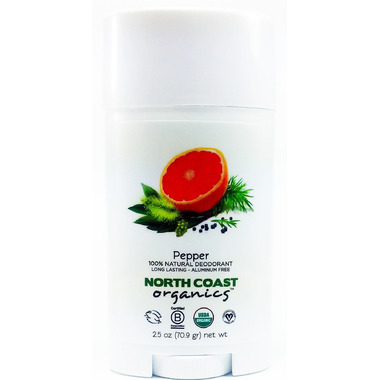 North Coast Organics Pepper Organic Deodorant