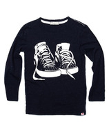 Appaman Graphic Long Sleeve Tee Sneaker Game
